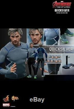Hot Toys MMS 302 Avengers Age of Ultron AOU Quicksilver Aaron Taylor-Johnson NEW