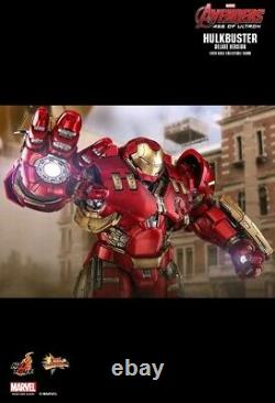 Hot Toys MMS 510 Avengers Age of Ultron Iron Man Mark 44 Hulkbuster Deluxe New