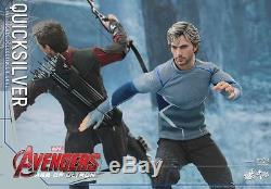 Hot Toys Marvel Avengers Age Of Ultron Quicksilver 1/6 Officiel