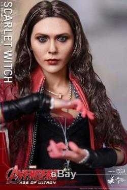 Hot Toys Marvel Avengers Age of Ultron Scarlet Witch 16 Scale Figure (MMS 301)