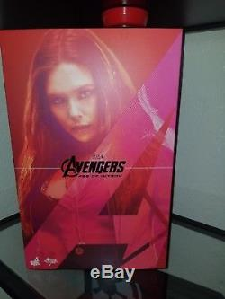 Hot Toys Marvel Avengers Age of Ultron Scarlet Witch 1/6 Scale Figure MMS 301