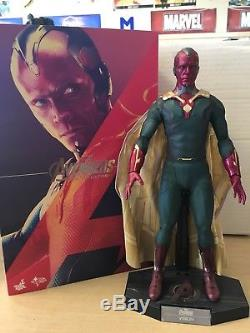 Hot Toys Marvel Avengers Age of Ultron Vision 1/6 Scale Figure MMS296