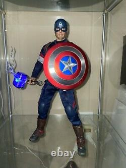 Hot Toys Marvel Captain America Avengers Age of Ultron MMS281 with Mjolnir Thor