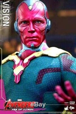 Hot Toys Marvel Vision MMS 296 The Avengers Age Of Ultron 16 Movie Figure