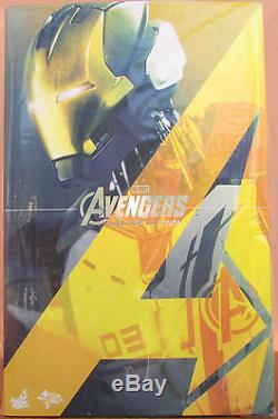 Hot Toys Mms299 Mms 299 Avengers Age Of Ultron 1/6 Iron Legion Asian Fast Stock