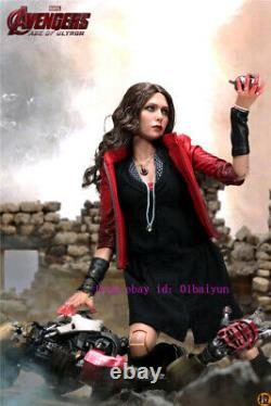 Hot Toys Mms301 Avengers Age Of Ultron 1/6th Scale Scarlet Witch Action