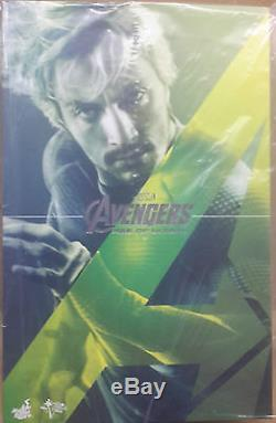 Hot Toys Mms302 Mms 302 Avengers Age Of Ultron Quicksilver Asian Fast Stock New