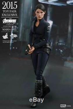 Hot Toys Mms 305 Avengers Age Of Ultron Aou Maria Hill Toy Fair Exclusive 1/6