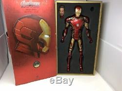 Hot Toys QS005 Avengers Age of Ultron Iron Man Mk 43 1/4 Scale (missing pieces)
