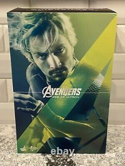 Hot Toys Quicksilver MMS302 1/6 Figure Marvel Avengers Age of Ultron