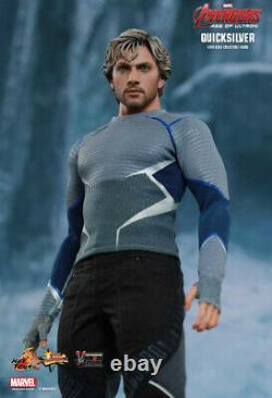 Hot Toys Quicksilver MMS302 Avengers 2 Age of Ultron New in Box