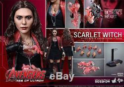 Hot Toys SCARLET WITCH Avengers 2 Age of Ultron 12 Inch Action Figure MMS306