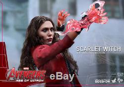 Hot Toys Scarlet Witch 1/6 Scale Figure Avengers Age Of Ultron Elizabeth Olsen