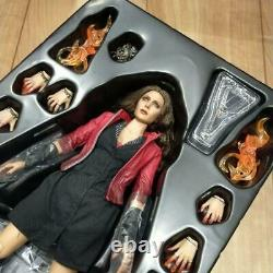 Hot Toys Scarlet Witch Avengers 2 Age of Ultron Figure Scale 1/6 Japan