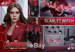 Hot Toys Scarlet Witch Promo Exclusive Avengers Age of Ultron MMS357 NewithSealed