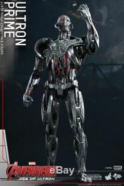 Hot Toys Ultron Prime 1/6 Scale Figure Avengers Age Of Ultron Marvel Sideshow