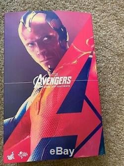 Hot Toys Vision Age Of Ultron The Avengers 1/6 Sideshow Collectibles Marvel