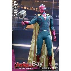 Hot Toys Vision Avengers Age of Ultron Sixth Scale Acion Figur (MMS 296)