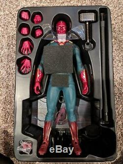 Hot Toys Vision Paul Bettany MMS 296 Marvel Avengers Age of Ultron