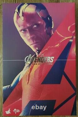 Hot toys 1/6 scale figures Age Of Ultron Vision