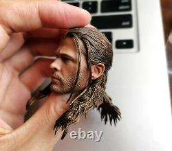 Hottoys MMS306 HT 1/6 Scale Thor 4.0 Head Sculpt Figure for 12in. Body In Stock