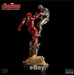 Iron Studios Iron Man Age Of Ultron 1/6 Scale Statue Avengers Hot Must See