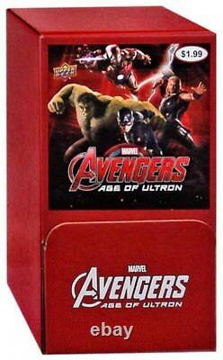 Marvel Avengers Age of Ultron Trading Card Gravity Feed Box