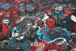 Marvel Avengers Age of Ultron print by Tyler Stout numbered HCG