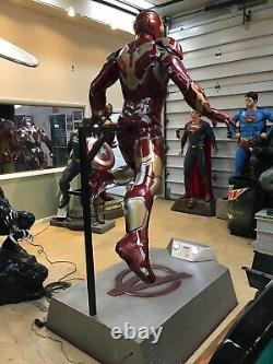 Marvel Avengers Life Size Age Of Ultron Hovering Ironman 11 Full Size Statue