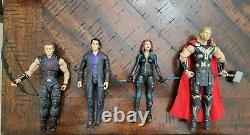 Marvel Legends Age of Ultron 4 pack Hawkeye, Bruce Banner, Black Widow, and Thor