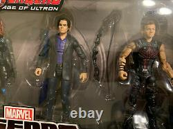 Marvel Legends Amazon Age Of Ultron 4 Pack Thor Hawkeye Black Widow Bruce Banner
