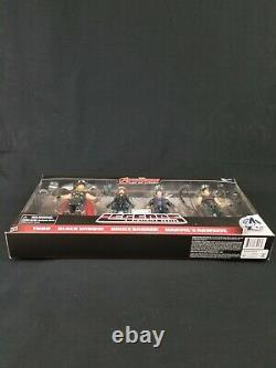 Marvel Legends Avengers Age Of Ultron 4 Pack Thor Black Widow Banner Hawkeye New