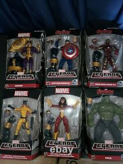 Marvel Legends Avengers Age Of Ultron Wave Thanos BAF Complete. New! Lot of 6