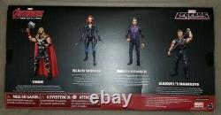 Marvel Legends Avengers Age of Ultron 4-Pack Ex Thor Black Widow Banner Hawkeye