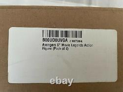 Marvel Legends Avengers Age of Ultron 4-Pack Exclusive Thor, Hawkeye, B Widow