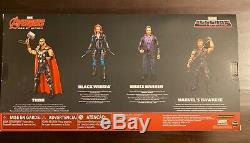Marvel Legends Series AVENGERS 6 Age Of Ultron 4 Pack Amazon Exclusive New