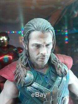 Marvel's Avengers Age Of Ultron Thor Hot Toys 1/6 Scale Figure Mms306 Endgame