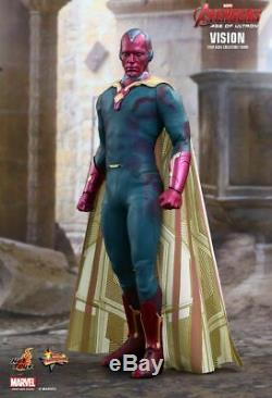 Marvel's Avengers Age Of Ultron Vision Hot Toys 1/6 Scale Figure Mms296 Infinity