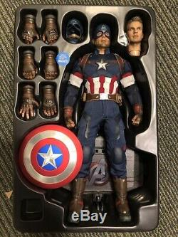 Modded Hot Toys Marvel Avengers Age of Ultron AOU Captain America MMS281 12 1/6