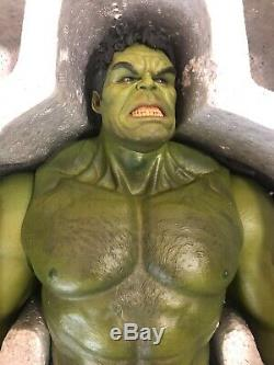 NEW- Hot Toys 1/6th scale Hulk collectible figure- Avengers Age of Ultron