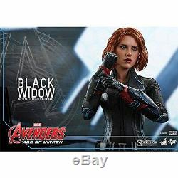 NEW Movie Masterpiece Avengers Age of Ultron BLACK WIDOW 1/6 Figure Hot Toys