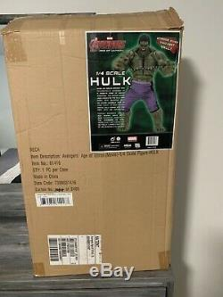 Neca 1/4 scale Incredible Hulk from avengers age of ultron please read details
