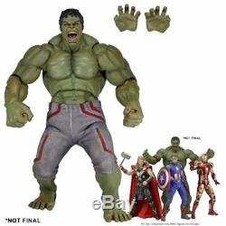 Neca Avengers 2 Age of Ultron Movie HULK 24 1/4 Scale Action Figure BRAND NEW