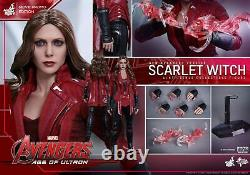 New Hot Toys Exclusive SCARLET WITCH MMS357 Age of Ultron NEW AVENGERS + Bonuses