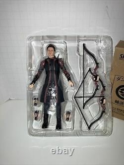 SH Figuarts Hawkeye from Marvel Avengers Age of Ultron Used/Complete Tamashii