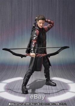 S. H. Figuarts Avengers Age of Ultron HAWKEYE Action Figure BANDAI NEW from Japan