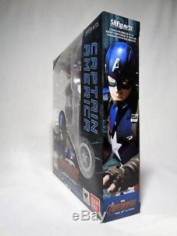 S. H. Figuarts CAPTAIN AMERICA from Avengers Age of Ultron MINT IN BOX