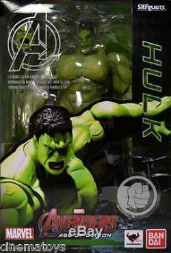 S. H. Figuarts Marvel Incredible Hulk Avengers Age Of Ultron Action Figure BANDAI