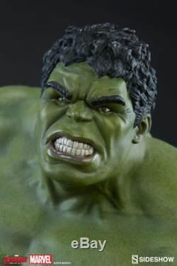 Sideshow Marvel The Avengers Age Of Ultron Hulk Maquette Statue Brand New