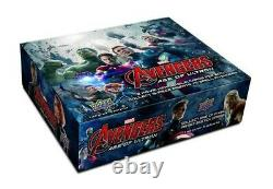 Super Rare Avengers Age of Ultron Upper Deck Sealed Box Marvel trading cards